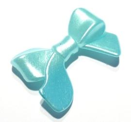 Acryl strik lichtblauw (11K000795)
