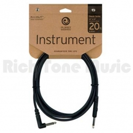 Planet Waves 6 meter kabel haakse plug