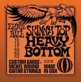 3-pack Ernie Ball Skinny top/Heavy bottom