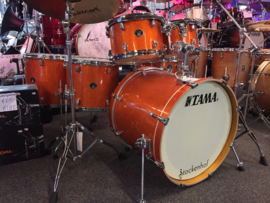 Tama Silverstar Orange Sparkle shell set