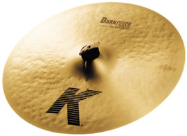 "15"" Zildjian K dark thin crash (NSJ)"