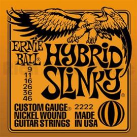 3-Pack Ernie Ball Hybrid Slinky 2222
