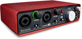 Focusrite Scarlet 2i2  audio interface
