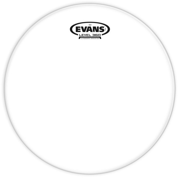 Evans G2 clear 12 inch