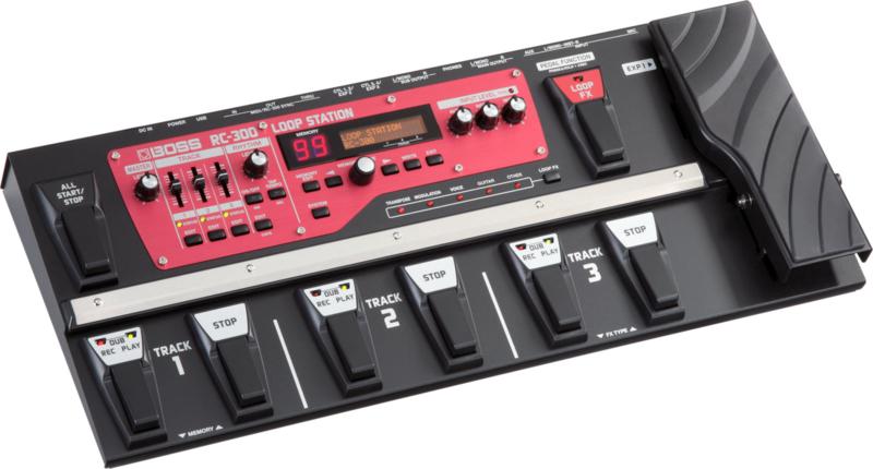 Boss RC-300 loop pedal