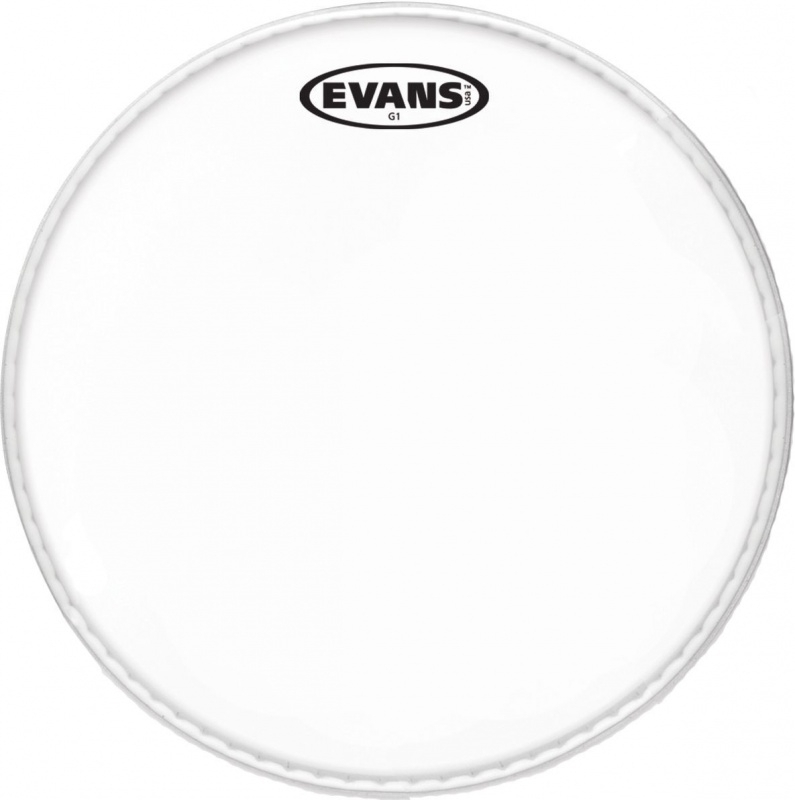 Evans G1 clear 10 inch