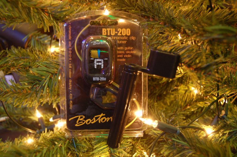 Boston cliptuner + stringwinder