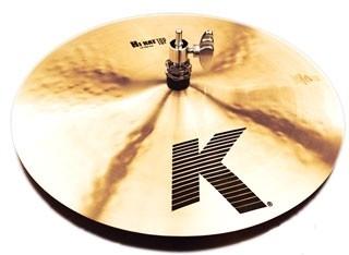 "13"" Zildjian K hi-hat"