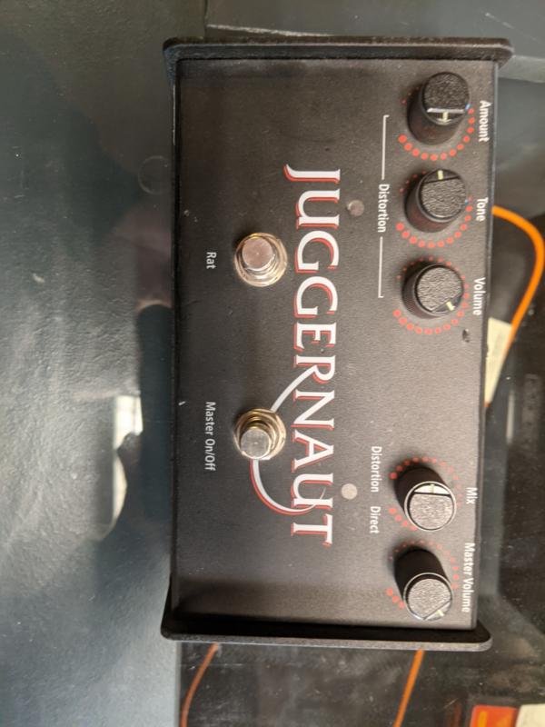 proco juggernaut bass rat ( occasion)