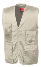 trainingsbodywarmer beige