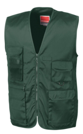 trainingsbodywarmer groen
