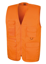 trainingsbodywarmer oranje