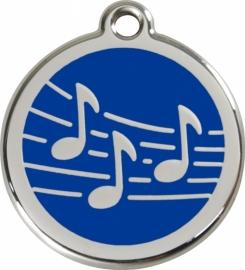 hondenpenning muziek (1MU)