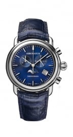 Aerowatch 1942 Blue Chronograph