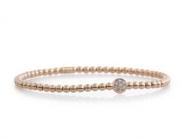 Reflex armband met witte diamant