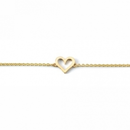 Miss Spring armband Tiny Heart