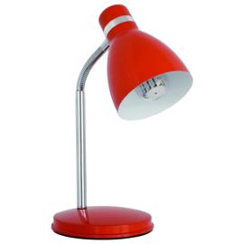 Kanlux ZARA Bureaulamp zwart., rood, blauw en zilver