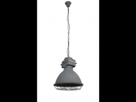 Industriele hanglamp Boston zwart/grijs