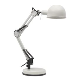 Kanlux PIXA Bureaulamp 1x40W Zwart/wit+ Wipschakelaar