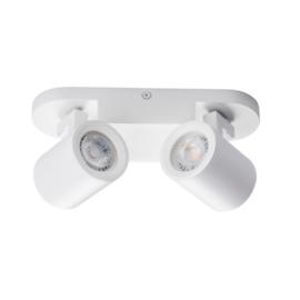 Laurin 2 wandlamp - plafondlamp spot - incl LED - wit