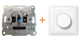 LED Pro dimmer - universel - 0-150 watt - inclusief afdekplaat