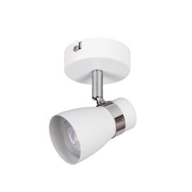 ENALI 1 - wandlamp - plafondlamp spot - incl LED - zwart/wit