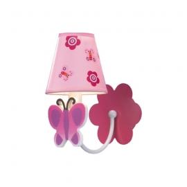 Vlinder wandlamp