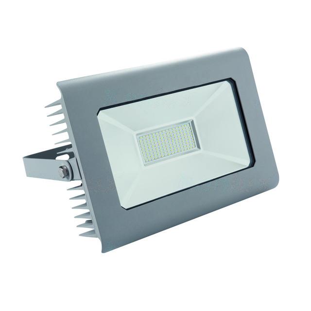 ANTRA - 100watt- LED - bouwlamp - neutraal wit - grijs