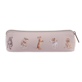 "Wrendale brush bag ""Woof!"" - hond"