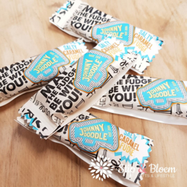 Johnny Doodle fudge - salty caramel - per 5
