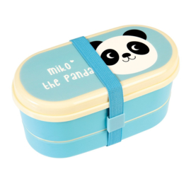 Bento box met bestek - Miko the panda