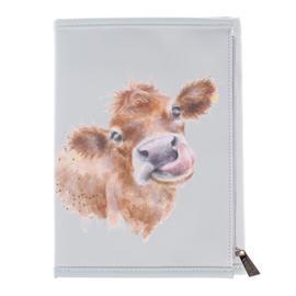 """Wrendale Notebook Wallet """"Farmyard Friends"""""""