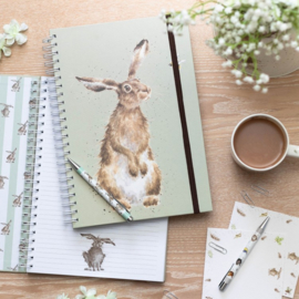 "Wrendale A4 Notebook ""The Hare and The Bee"""