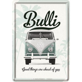 Metal postcard - Volkswagen Bulli - Good Things