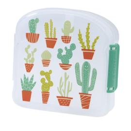 Sugarbooger sandwich box - happy cactus