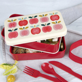 Bento box XL - vintage apple