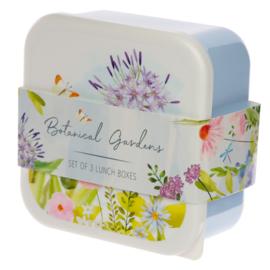 Lunchboxen set M/L/XL - garden