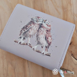 """Wrendale small purse """"Owl"""" - uil"""