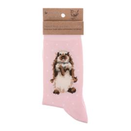 """Wrendale sokken """"Earisistible""""- konijn"""