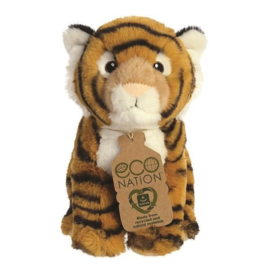 Eco Nation knuffel tijger