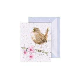 """Wrendale mini card """"Little Tweets"""" - winterkoninkje"""