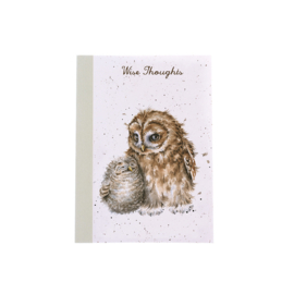 "Wrendale A6 Paperback Notebook ""Owls"""