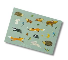 Esther Bennink stickervel - Happy in the Woods