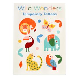 Plak tattoos - Wild Wonders