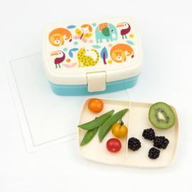 Lunchbox  met tray - Wild Wonders