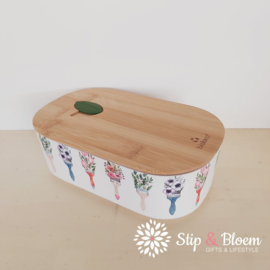 Bioloco plant lunchbox - Flower brushes