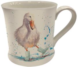 Bree Merryn fine china mok - Deirdre duck