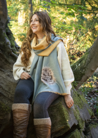 Wrendale winter scarf - Contentment