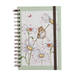 "Wrendale A5 Notebook ""Oops a Daisy"""