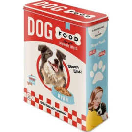 Storage tin extra large - Dog Food